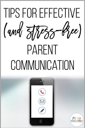 tips for effective parent communication